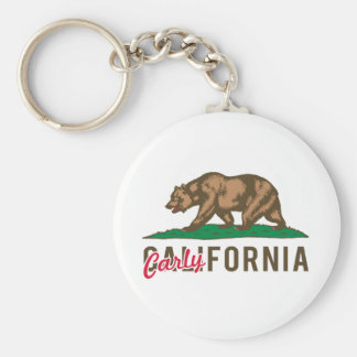 Carlyfornia Key Ring