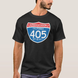 CARMAGEDDON 2 on the 405 (dark shirt) T-Shirt