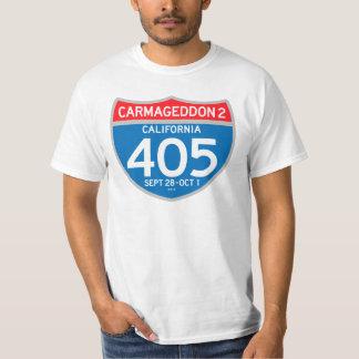 CARMAGEDDON 2 on the 405 (light shirt) T-Shirt