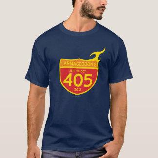 CARMAGEDDON 2 the 405 ON FIRE! (dark shirt) T-Shirt