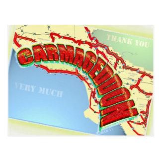 Carmageddon Will Los Angeles Freeways be the same? Postcard