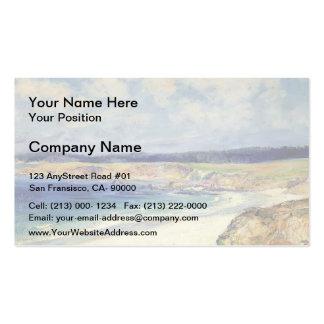 Carmel Beach by Guy Rose Business Card Templates
