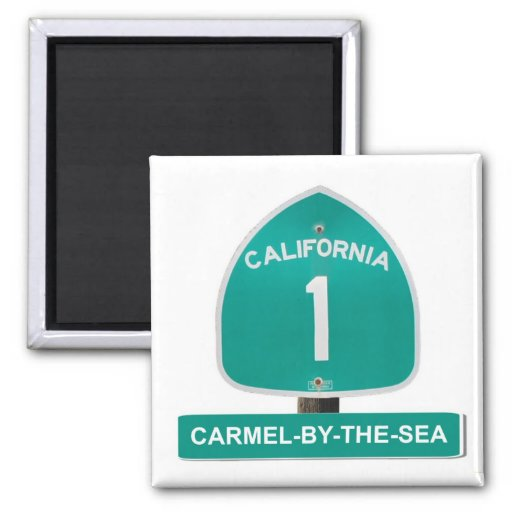Carmel-By-The-Sea, California Highway 1 Magnet