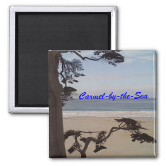 Carmel-by-the-Sea Square Magnet