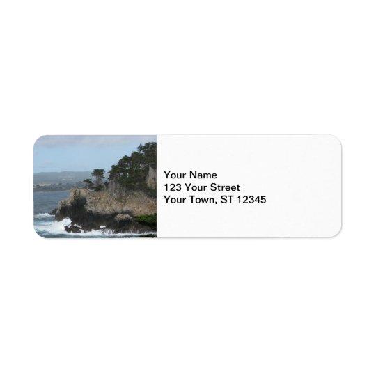 Carmel, California Return Address Label