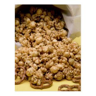 Carmel Corn and pretzels Postcard