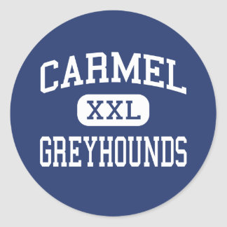 Carmel - Greyhounds - High School - Carmel Indiana Classic Round Sticker