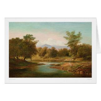 Carmel River Scene (0236A) Greeting Card