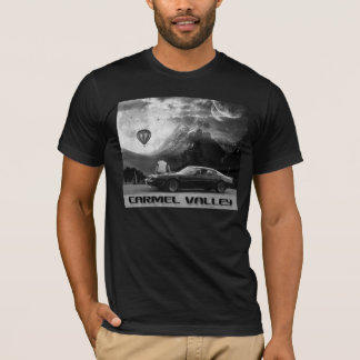 Carmel Valley Vacay with Balloon! (B&W print) T-Shirt
