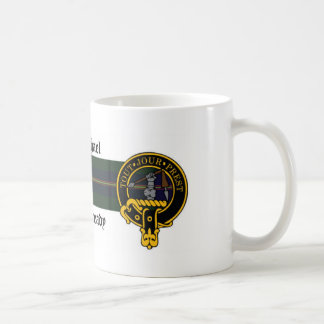 Carmichael Scottish crest and Tartan mug