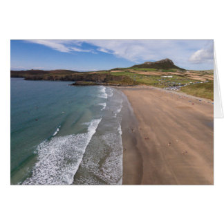 Carn Llidi and Whitesands Bay Wales Card