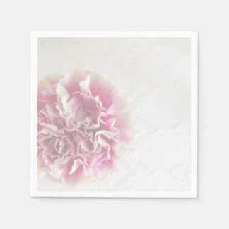 Carnation and Lace Party Napkins Disposable Napkins