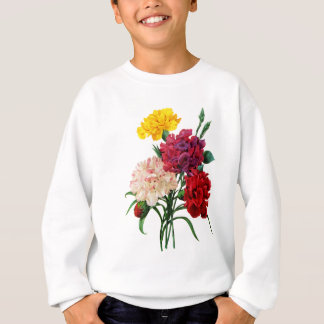 Carnation and Marigold Bouquet by Redoute Sweatshirt
