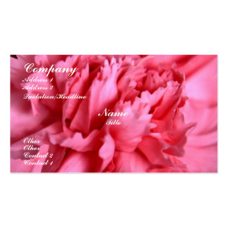 Carnation Business Card Templates