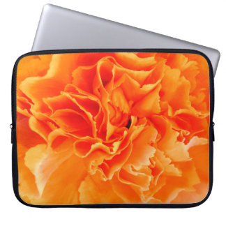 Carnation glow laptop sleeve