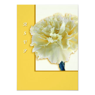 Carnation Personalized Invitations
