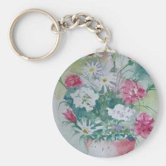 Carnation keychain