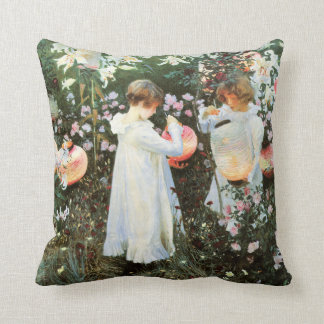 Carnation Lily Lily Rose American MoJo Pillows
