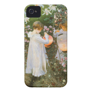 Carnation, Lily, Lily, Rose By John Singer Sargent iPhone 4 Cover
