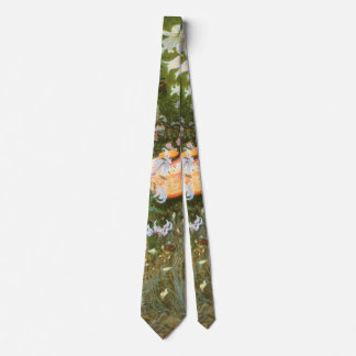 Carnation, Lily, Lily, Rose By John Singer Sargent Tie