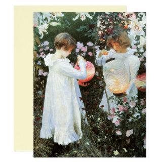 Carnation Lily Lily Rose Fine Art Birthday Card