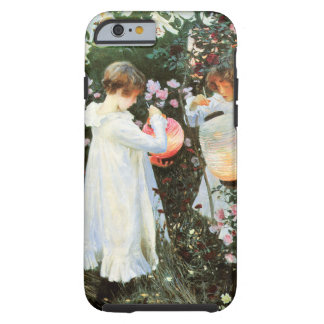 Carnation Lily  Rose Tough iPhone 6 Case