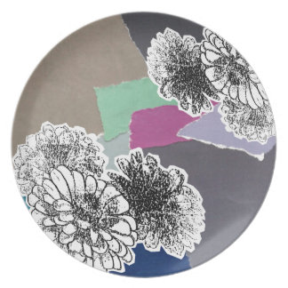 Carnation of india plate