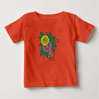 Carnations Baby T-Shirt