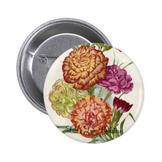 Carnations Button