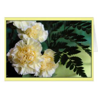 """Carnations"" Card"