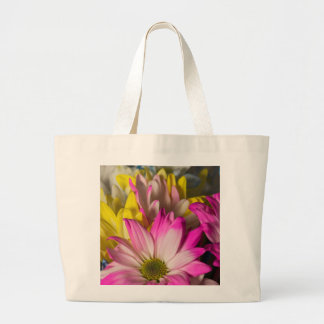 Carnations Large Tote Bag