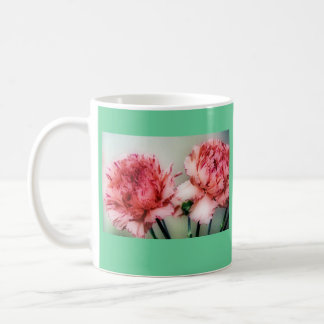 Carnations Coffee Mugs