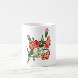 carnations mugs