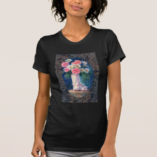 CARNATIONS & OLD LACE by SHARON SHARPE T Shirt