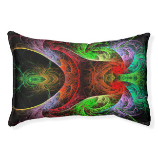 Carnaval Abstract Art Pet Bed