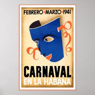 Carnaval, En la Habana, Poster