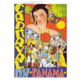 Carnaval in Panama Greeting Card
