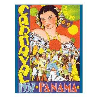 Carnaval in Panama Postcard