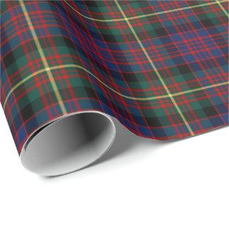Carnegie Clan Tartan Wrapping Paper