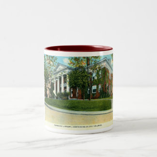 Carnegie Library, Tuskegee, Alabama Vintage Two-Tone Coffee Mug
