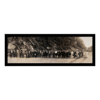 Carnegie Steel Company Photo 1908 Poster