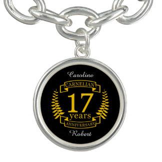 Carnelian Gemstone wedding anniversary 17 years