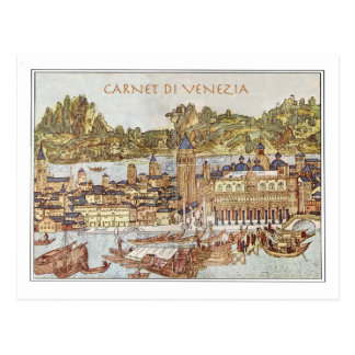 Carnet Di Venezia Post Card