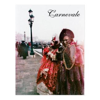 Carnevale 5 postcard