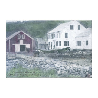 Carney Hotel Canvas Canvas Print