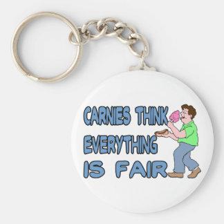Carnies Think Key Ring