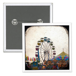 Carnival 15 Cm Square Badge