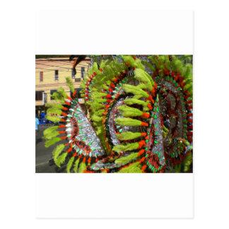 Carnival 2010 in Trinidad Postcard