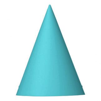 Carnival Aqua Solid Party Hat