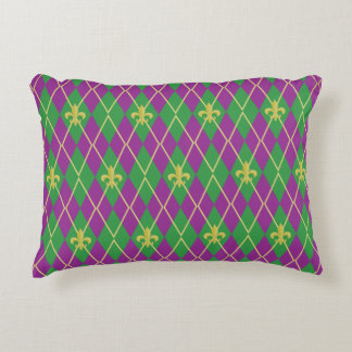 Carnival Argyle Accent Pillow